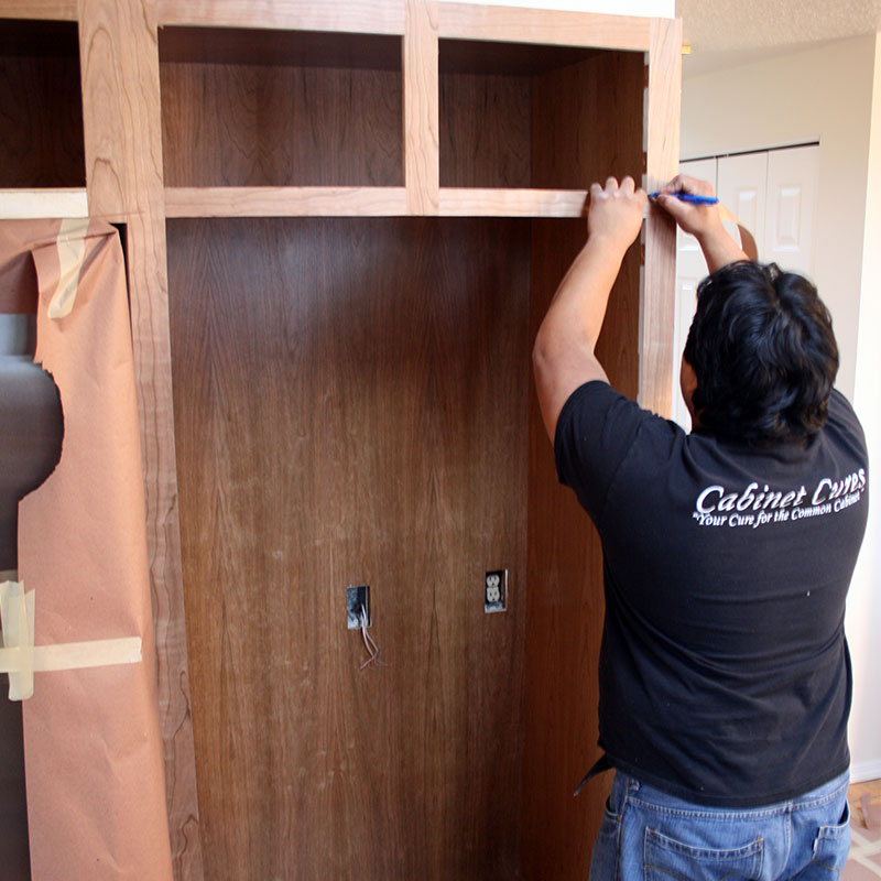 Cabinet Refacing Remove