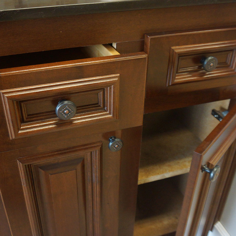 soft close drawers cabinet refacing
