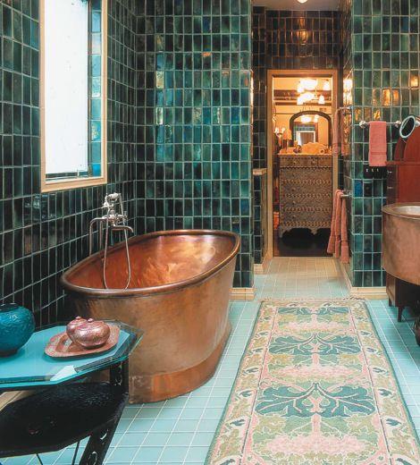 copper tub bathroom cabinet cures inc