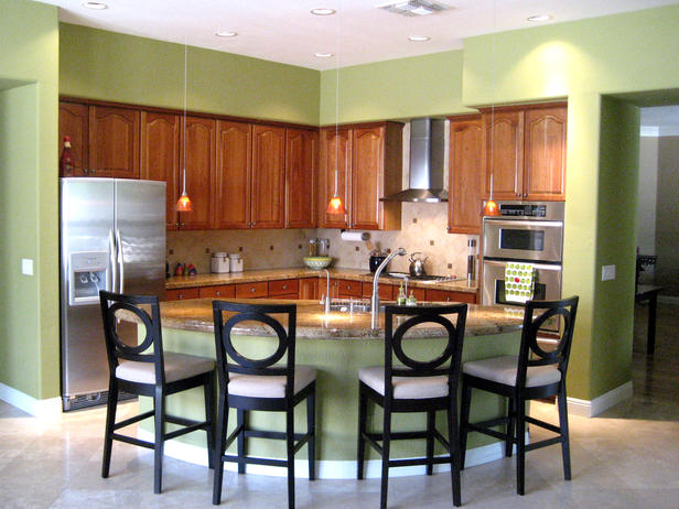 green kitchen with maple cabinets cabinet cures inc
